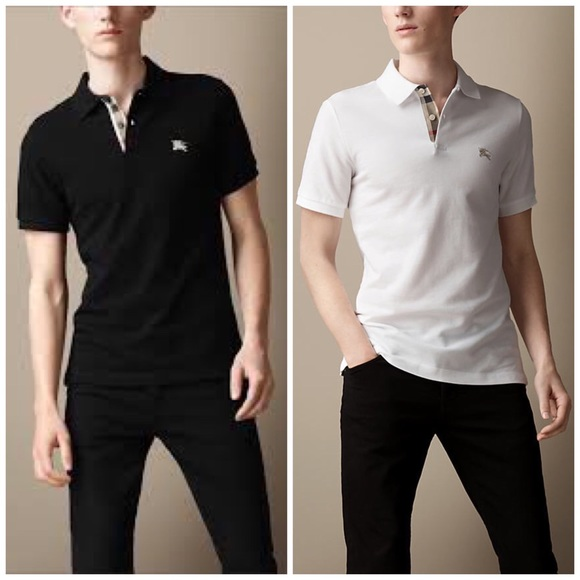 Burberry Shirts   Mens Lot Of 2 Black And A White   Poshmark 3f229033a5d6